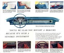 1960 mercury mercury car brochures pinterest mercury cars