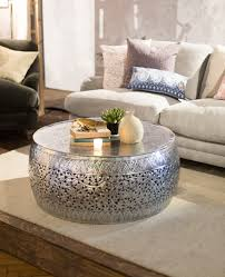 coffee table moroccan inspired coffee tables brass tray