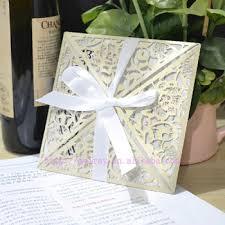 Wholesale Wedding Invitations Wholesale Wedding Invites Laser Cut Invitation Wraps Ivory Buy