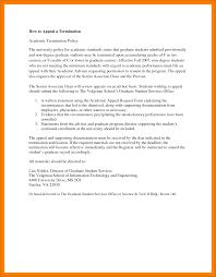 10 sample academic dismissal appeal letter budget reporting