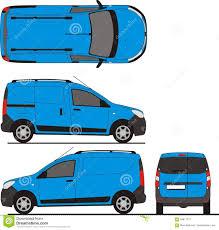 renault dokker van renault dokker van 2013 stock vector image of detailed 84817312