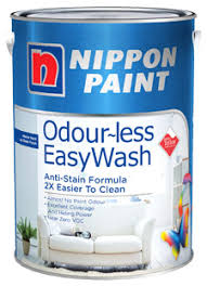 odourless paints odour less easywash