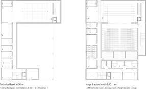 Locker Room Floor Plans Gallery Of Municipal Theater At Arahal Javier Terrados Estudio