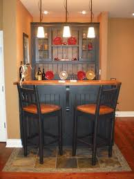Basement Bar Ideas For Small Spaces Small Bar In Basement Design Decoration