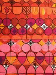 Orange Curtain Material 1960s Curtain Fabric Prints U0026 Patterns Pinterest Curtain
