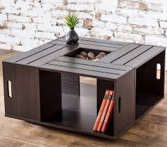 coffee table awesome handmade wood crate coffee table rustic with