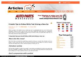 tips for driving a new car 5 useful tips to follow while test driving a new car