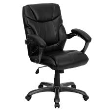 brown leather armless desk chair chair black and desk with amazoncom flash furniture high back