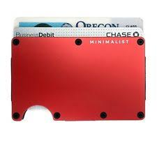 personal details resume minimalist wallet metal clippers womens money clip ebay