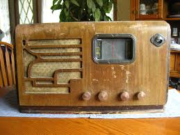 Crosley Radio Parts Old Antique Wood Airline