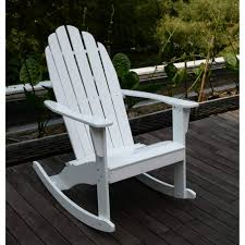 White Slat Rocking Chair by Adirondack Rocking Chair White Walmart Com