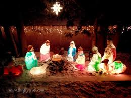 outdoor nativity set a vintage christmas tour outdoor nativity sets christmas
