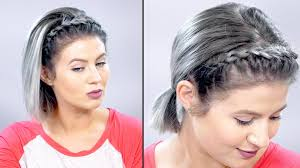 braid headband how to lace braid headband on hair tutorial milabu
