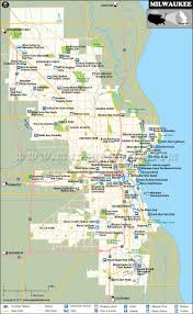 Wisconsin Railroad Map by Milwaukee Map Wisconsin Milwaukee City Map