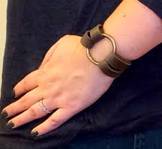 Joanna Gaines Wedding Ring by Diy Leather O Ring Bracelet Inspired By Joanna Gaines From Fixer