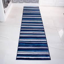 Teal Living Room Rug Modern Teal Blue U0026 White Striped Living Room Rug Sardinia Kukoon