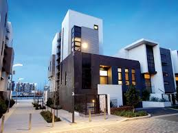 world of architecture modern waterfront house at docklands