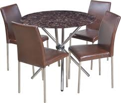 hometown corral glass 4 seater dining set price in india buy