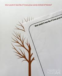 a creative drawing idea for trees steam lab