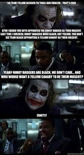 Team Black Guys Meme - joker with black guy memes quickmeme