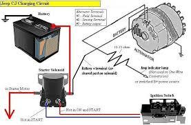 wiring jeep cj delco remy internally regulated jeep cj charging