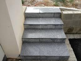 bloc marche escalier exterieur escaliers et marche bloc