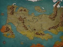 Thedas Map Map Of My Fantasy Setting Arcadia Fantasy