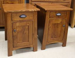 Amish End Tables by End Tables Amish Traditions Wv