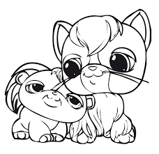 littlest pet shop coloring pages of dogs cute dog littlest pet shop coloring pages värityskuvat pinterest