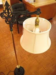 Yellow Floor Lamp Shade How To Use An Uno Shade Adapter