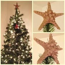 my diy starfish christmas tree topper it u0027s a real starfish