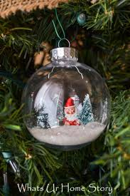 snow globe ornament whats ur home story