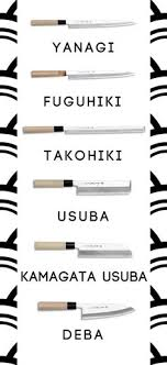 types of japanese kitchen knives tipos de cuchillos japoneses y sus usos custom knives and knives