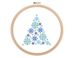 cross stitch pattern christmas etsy