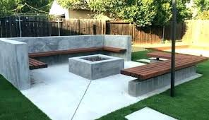 Modern Firepit Modern Pits Outdoor Attractive Pit And Spa Pool San Francisco