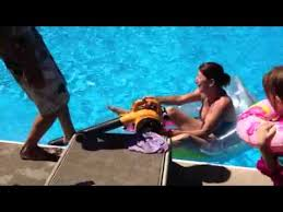 Motorized Pool Chair Motorized Pool Lounge Chair Youtube
