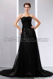 black wedding dress sweetheart black tulle black wedding dress with 1st