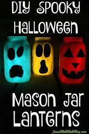 easy diy halloween mason jar lanterns project