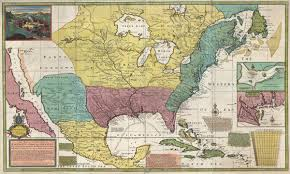 Louisiana Territory Map by New Map Of The North Parts Of America Claimed By France Under Ye