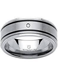 titanium wedding bands titanium rings jewelry clothing shoes jewelry