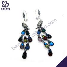 peacock design earrings buy cheap china new design peacock earrings products find china