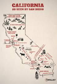 Map Of San Diego Ca Map California San Diego California Map