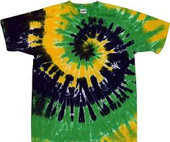 mardi gras shirts new orleans tie dyed shop spiral tie dye t shirt mardi gras new