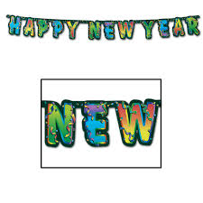 new years streamers new year hanging banners