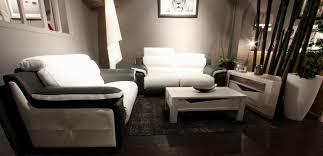 canapé et fauteuil cuir salon canapé positano canapé fauteuil cuir tissu relax électrique