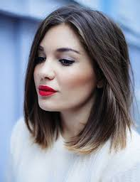 bob haircuts with center part bangs ideas about middle hairstyles cute hairstyles for girls