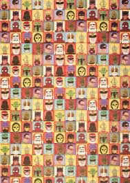wrapping papers heroes villains wrapping paper paper source