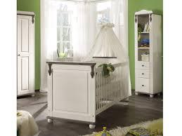 babyzimmer landhaus babybett lara ii kiefer massiv lava weiß babyzimmer komplett