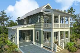 Stilt House Floor Plans Beach House Plans Houseplans Com
