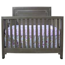 Gray Convertible Cribs by Dwell Studio Beckett Convertible Crib Washed Grey Tjskids Com